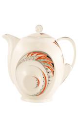 Porcelain tea pot
