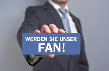 Werden Sie unser Fan!