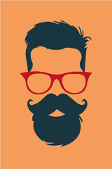 Fashion hipster 2015 look vector