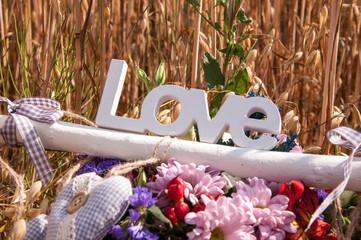 Любовь, слово, табличка, love