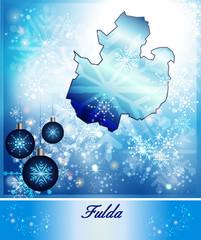 Karte von Fulda