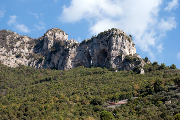 Detail of the rock