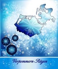 Karte von Vorpommern-Ruegen