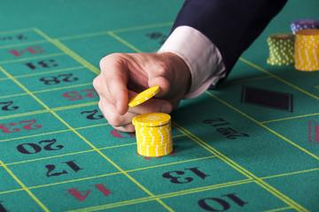 Betting in casino