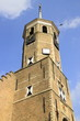 canvas print picture - Turm des Rathauses in Willemstad