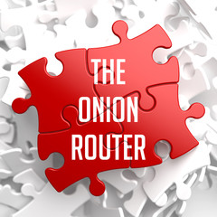 The Onion Router on Red Puzzle.