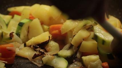 Vegetables cooking. Find similar in our portfolio.
