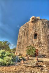 defensive tower in Porto Conte, Sardinia