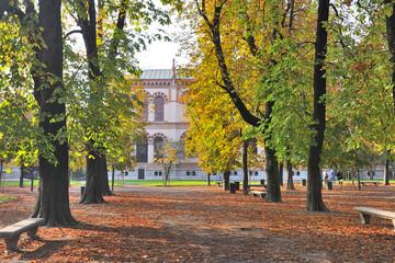 Milano - Giardini Parco di via Palestro - Porta Venezia