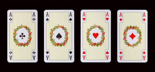Spielkarten der Ladys - ASSE