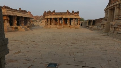 Glide to the square of the Vittala Temple