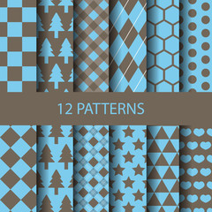 12 geometric patterns