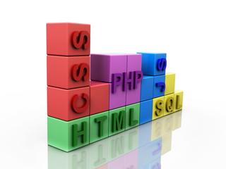 Web Programming Tetris 3D Concept V