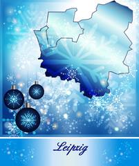 Karte von Leipzig