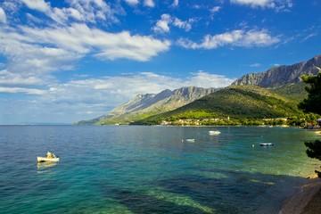 zaostrog - beautiful dalmatian adriatic village in croatia