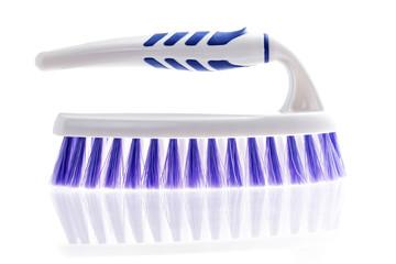 Brush for washing on a white background