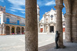 The Havana Cathedral on a beautiful summer day
