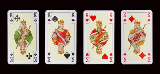 Spielkarten der Ladys - KÖNIGINEN in Kaisers Kleider