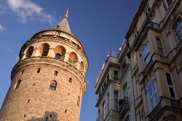 Galata Tower / Galata Kulesi, Istanbul. Turkey.