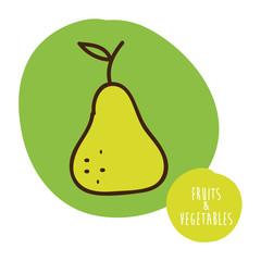 fruits cute design
