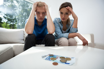 Couple not having money