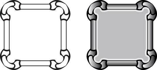 frame pipes