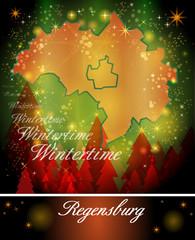 Karte von Regensburg