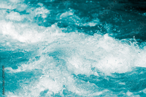 Poster Water planten abstract background. water wave with splashes
