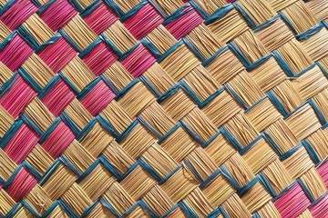fond tressage texture vannerie artisanale malgache