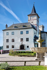 castle Rozmberk nad Vltavou, South Bohemia, Czech republic
