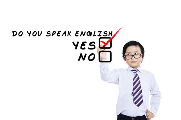Learning english language for kid 1