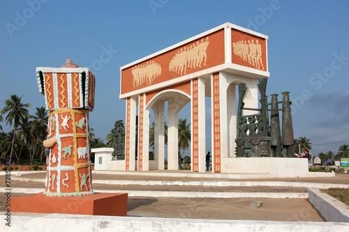 Staande foto Afrika Benin - Sklavenroute