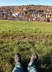 Pause Wandern