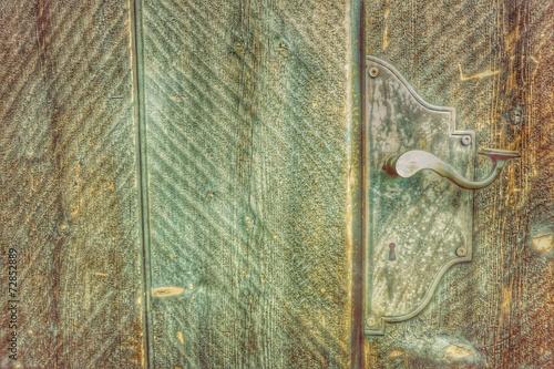 canvas print picture vintage door...