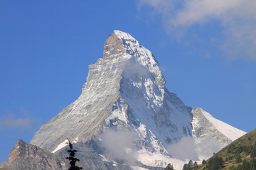 alpine summit in Zermatt, Switzerland