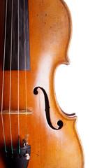 violin or fiddle detail