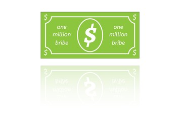 bribe paper money