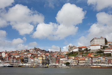Old City of Porto Skyline in Portugal