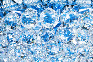 Abstract Crystals Background