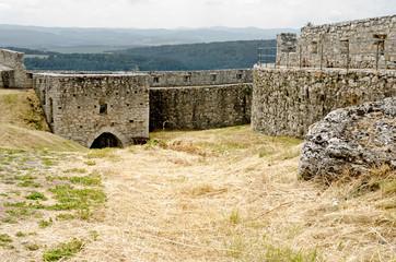 Old castle's building