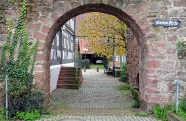 Erasmus Pforte in Erbach im Odenwald