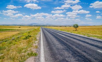 Country road at Cappadocia , Turkey