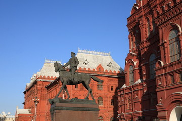 historic museum and statue