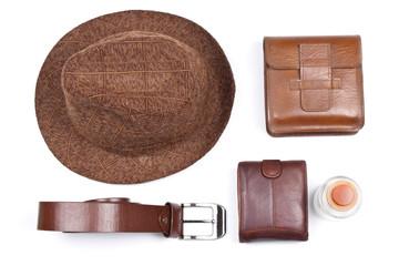 Man's stylish accessories