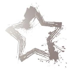 Hintergrund Stern silber