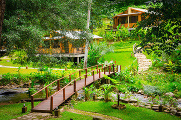 Cottage in the garden , Chiangmai , Thailand