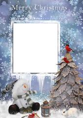 Christmas greetings card