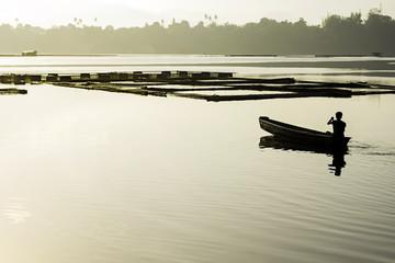 Early Lake Fishing
