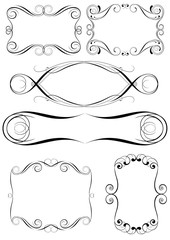 Swirl set of frame design