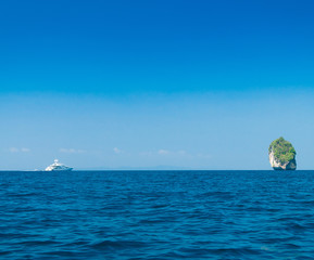 Heaven Horizon Sea Rocks